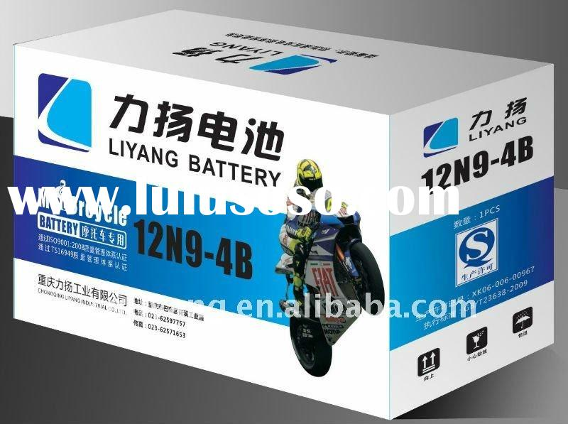 12V Dry Charged Motorcycle Battery