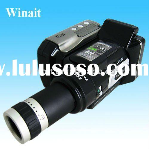 12 MP 720P HD Digital Video Camera with wide-angle lens