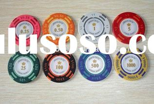 14G Clay US Value Poker Chip,gambling chip,poker chip