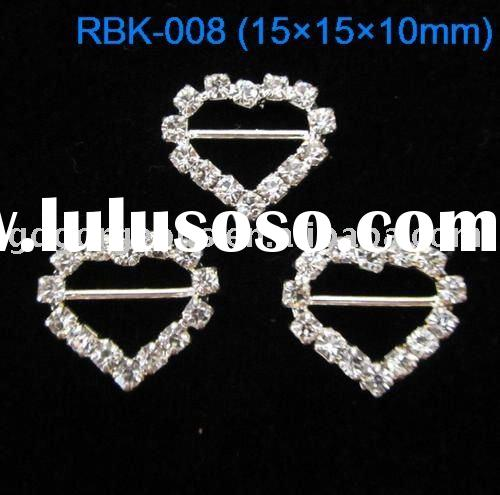 15mm Wedding invitation Crystal slide buckle