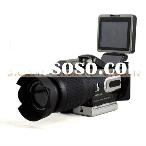 16MP 128X Zoom HD7000/HD9100 HDDV Digital Video Camera Camcorder with Telephoto Lens Wide-angle Lens