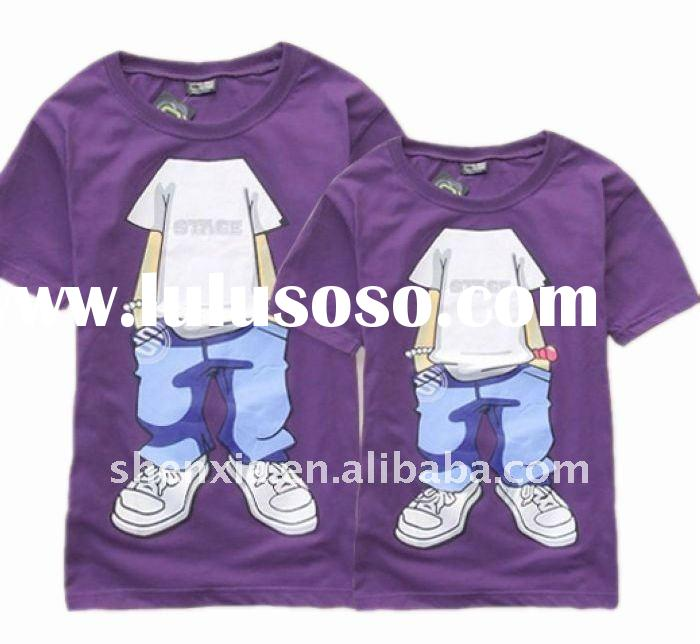 180gsm o neck with short sleeve lover t shirt