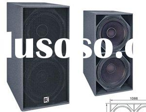 18' SUB BASS speaker box live sound PA