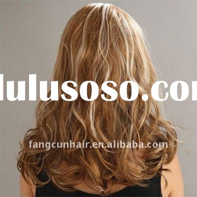 18 inches popular full lace human hair wigs/wholesale european remy human hair