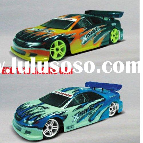 1/10 rc car nitro on road car