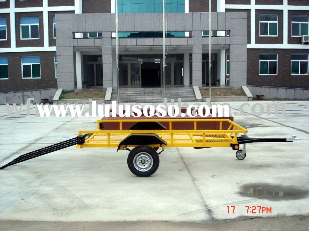 1.5 tons Utility flat bed trailer,vehicle transport trailer