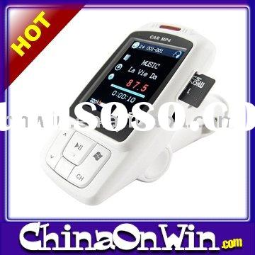 "1.8"" Display LCD Car FM Transmitter for MP3 MP4 Player - 2GB"