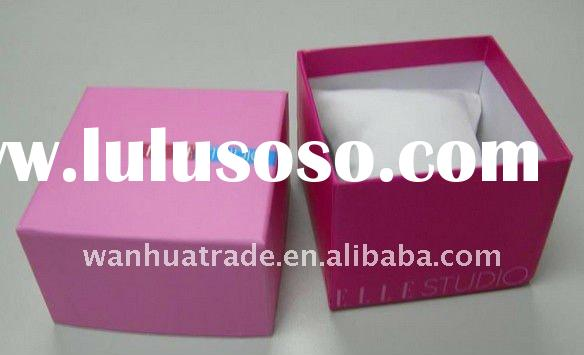 2011 High Quality Design New Tissue Red Wedding Favor Paper Box