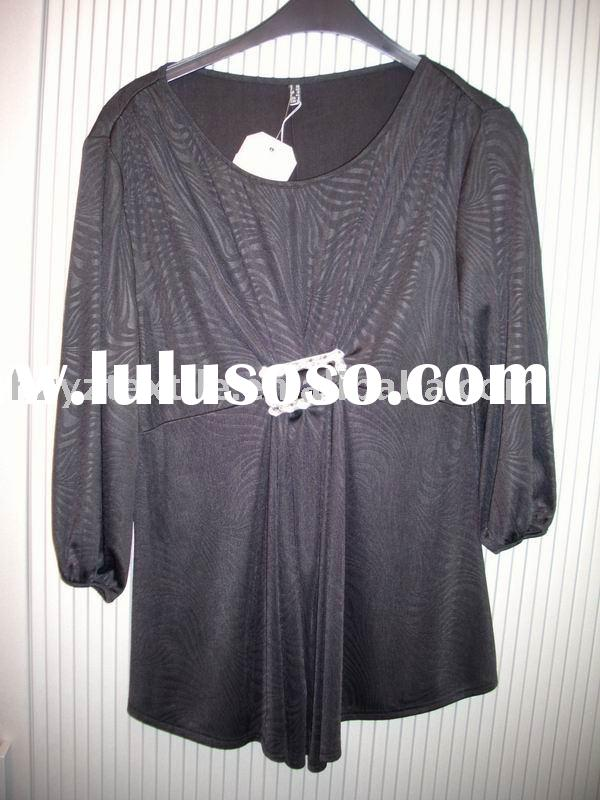 2011 hot sale fashion Lady's blouse,tops,fashion blouse,lady's clothes,clothing,blou