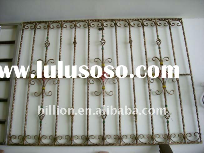 2011 new design china manufacture producer wrought iron balcony balustrade