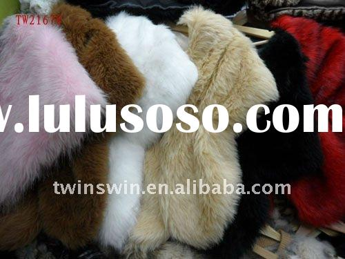 2011 newest fashion rabbit fur vest(TW21678)