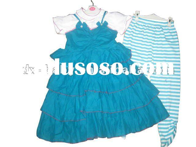 2011 teen girl summer fashion clothing set