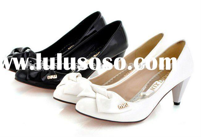 2012 Cheap New Pumps Shoes For Women With Bowknot