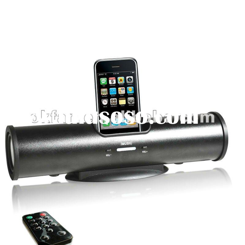 2012 Hot Sale Portable Speaker For ipod & iphone With Docking Station