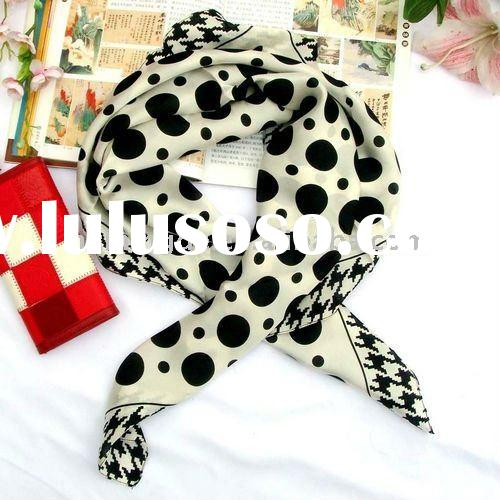 2012 Printed Silk fashion scarf