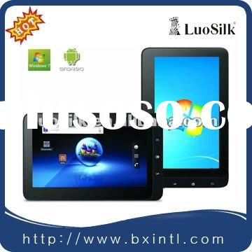 2012 The Newest 10 inch Winpad with dual core Intel Atom ,WIFI &Bluetooth,windows 7/Android 2.2