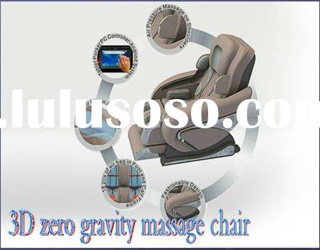 2012 best zero gravity massage chair with touch screen controller