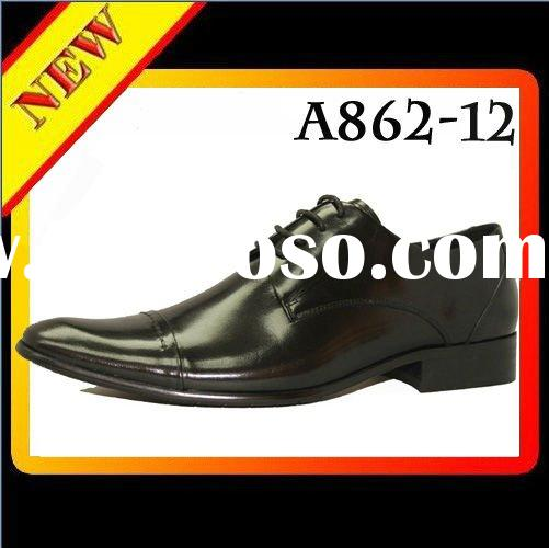 2012 italian style Genuine Leather shoes men dress shoes