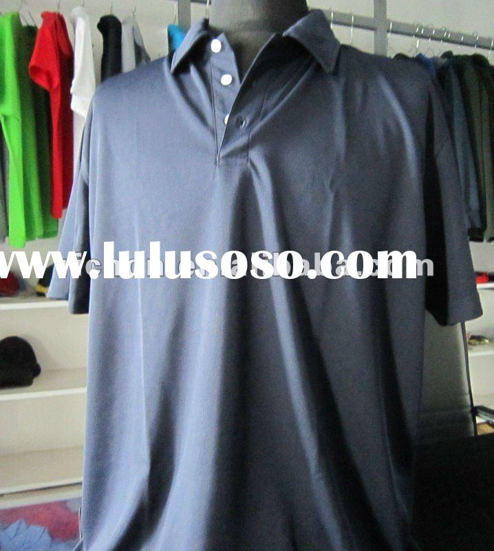 2012 men's polyester quick dry polo shirt