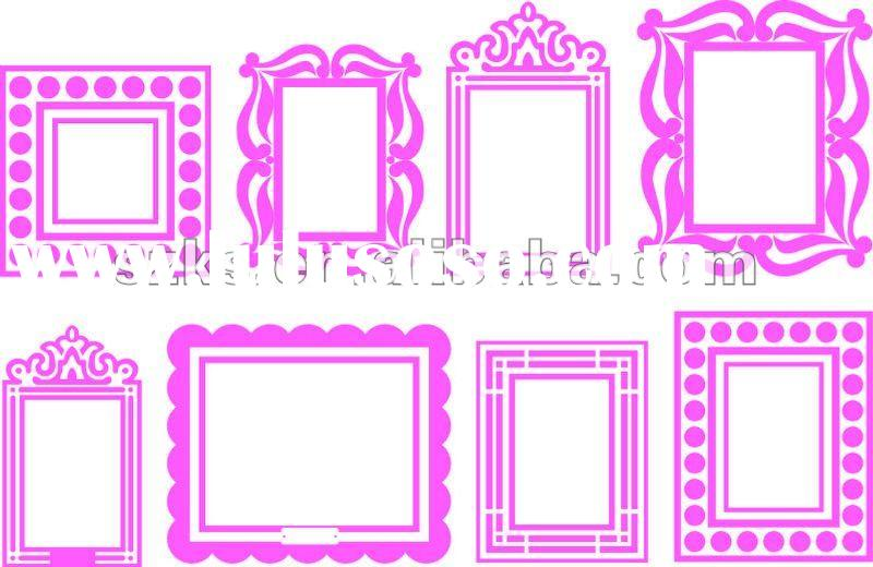 Dorable Picture Frame Decal Crest - Custom Picture Frame Ideas ...