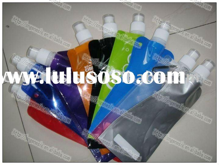 2012 original plastic foldable water bottle in various shape