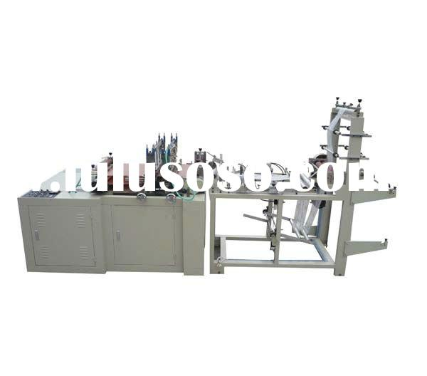 2012 plastic zipper bag making machine