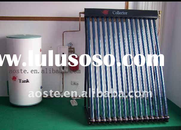 2012 split heat pipe solar water heater system