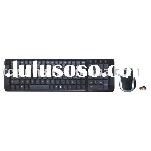 2.4G Wireless Keyboard+Mouse Combo TP-92309AG Black