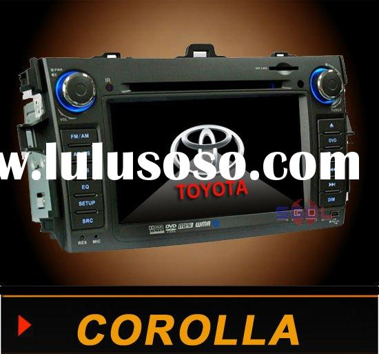 2 Din HD Car DVD with GPS Blue tooth TV AM FM I-POD For Toyota COROLLA