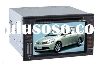 "2 din 7"" inch special car dvd player for NISSAN Tiida. car dvd for NISSAN Tiida with GPS. Whole"