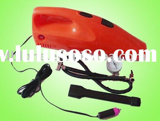 2 in 1 mini auto vacuum cleaner with air compressor (HOT)