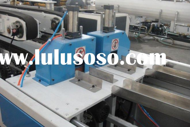 2 in 1 pvc pipe making line