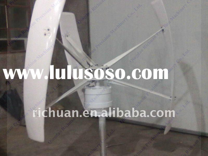 300w vertical axis wind turbine generator wind power system 300w vawt vertical wind turbine tower