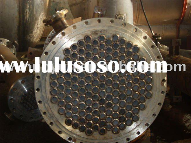 316L shell and tube heat exchanger