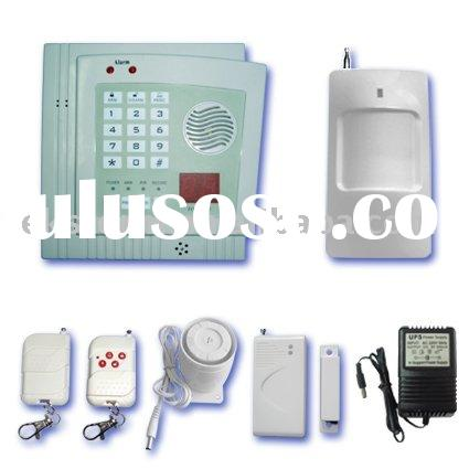 32 Zone Auto Dial Burglar Alarm System With LED Screen And Password Protection
