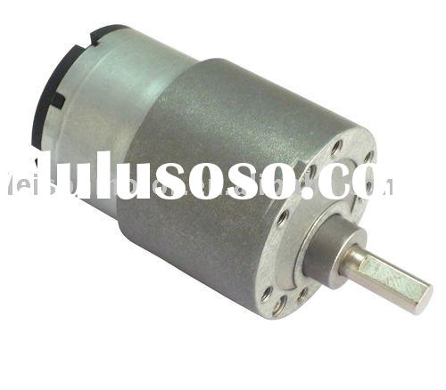 37mm 12v low rpm dc gear motor