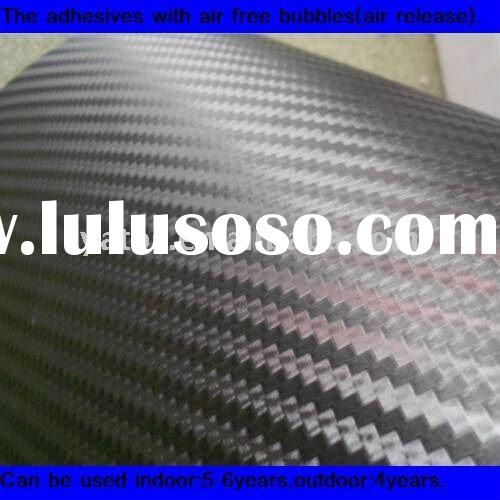 3D Carbon Car Sticker Full Body With Air Free Bubbles