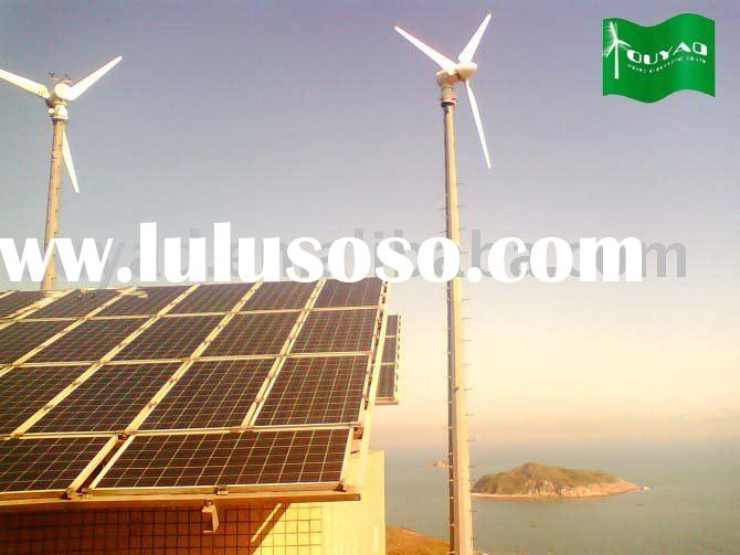 3KW -200KW wind solar hybrid power system with long warranty