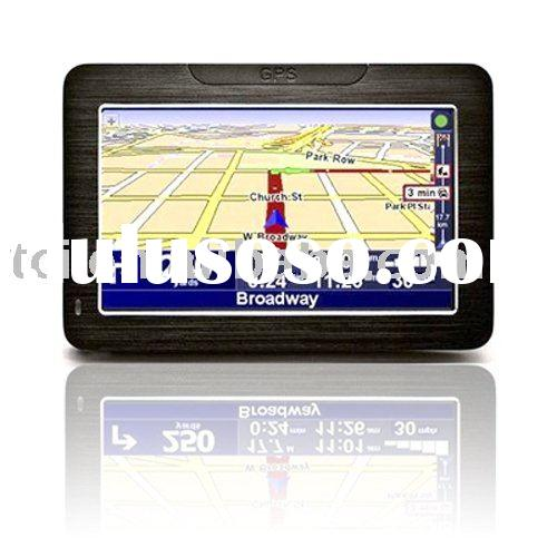 4.3 inch high quality YF mainboard gps navigation system with windows ce 6.0 system