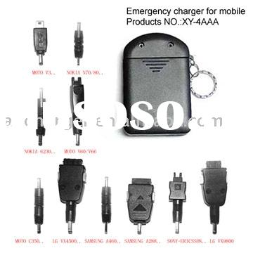 4 AAA Emergency Charger for Cell Phone