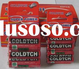 4pcs/blister card ,zinc manganese battery