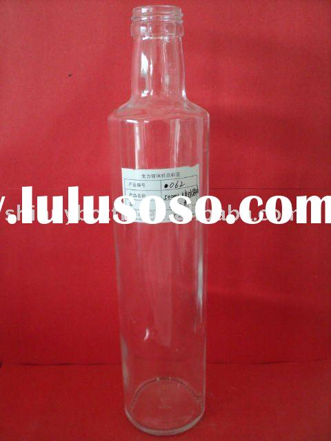 500ml glass olive oil bottle, oil glass bottle