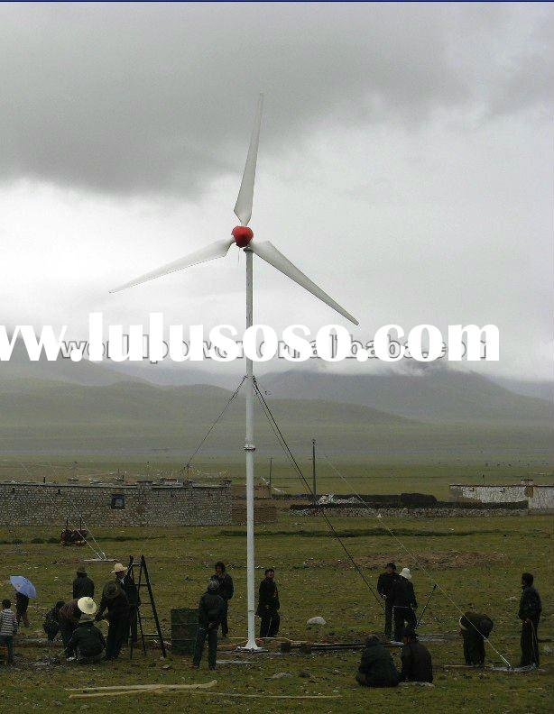 5KW Off Grid Wind Turbine Generator