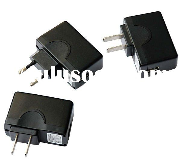 5V 1A USB charger for cell phone with UL,FCC,CE,GS,TUV certificate