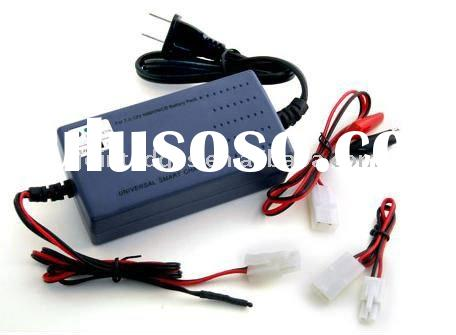 7.2-12V NiMH/NiCD Intelligent Charger