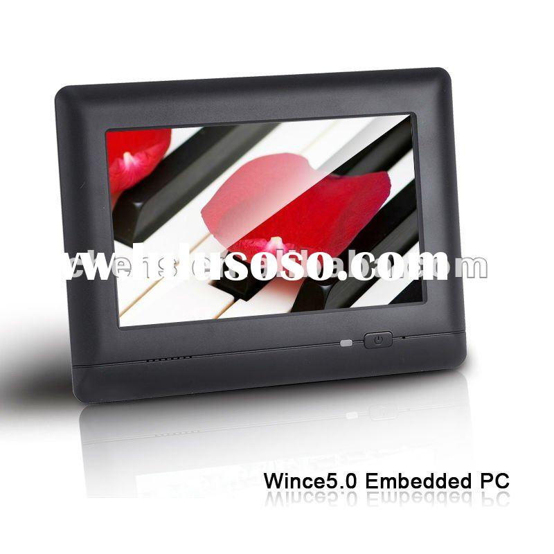 7 Inch with Touch Screen WinCE 5.0 Industrial Embedded PC