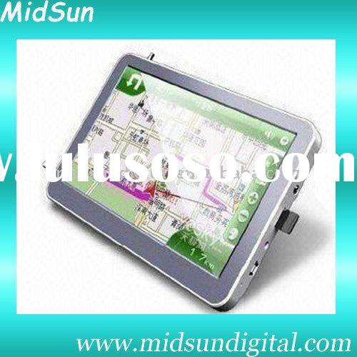 7 gps navigation wifi bluetooth,Windows CE 6.0,AV-in,128MB SDRAM,Built-in 4GB Flash Memory, Bluetoot