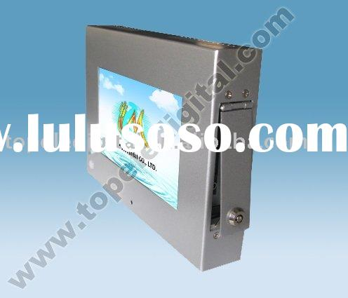 7 inch small lcd ad display with motion sensor for goods shelf