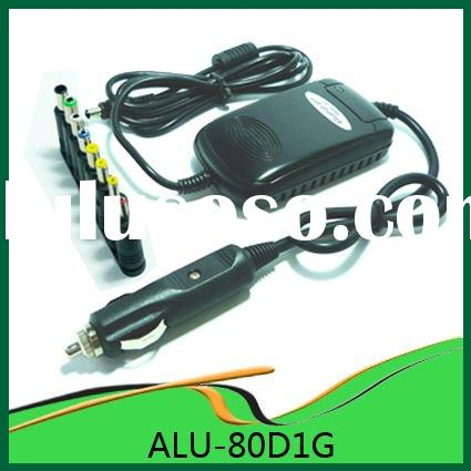 80W Car Use Universal Laptop Power Adapter Plug