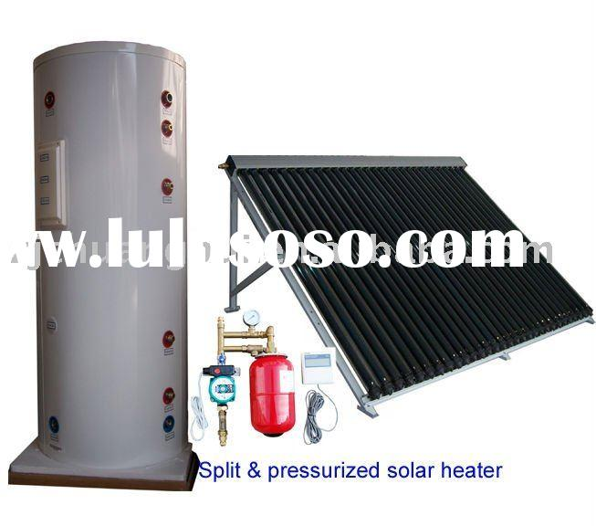 80liters to 500liters double heat exchangers pressurized and split solar water heater